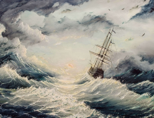 Finding Calm in the Storm (Mark 4:35-41)